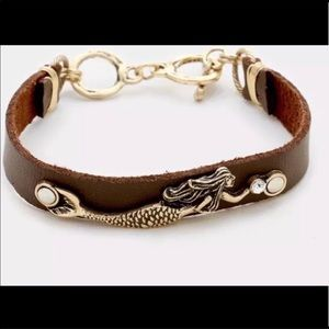 Mermaid toggle bracelet